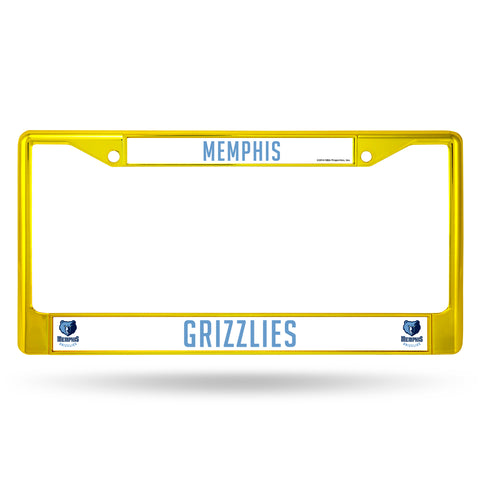 GRIZZLIES COLORED CHROME FRAME SECONDARY YELLOW