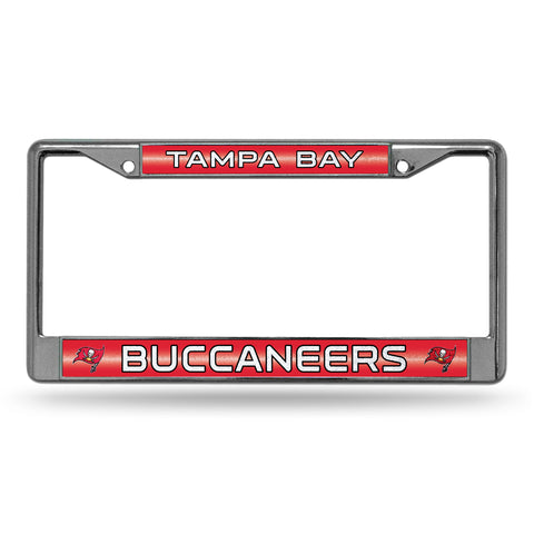 BUCCANEERS BLING CHROME FRAME