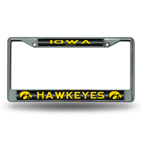 IOWA BLING CHROME FRAME