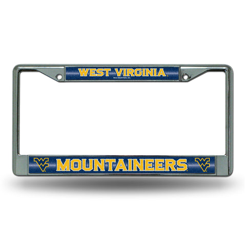 WEST VIRGINIA BLING CHROME FRAME