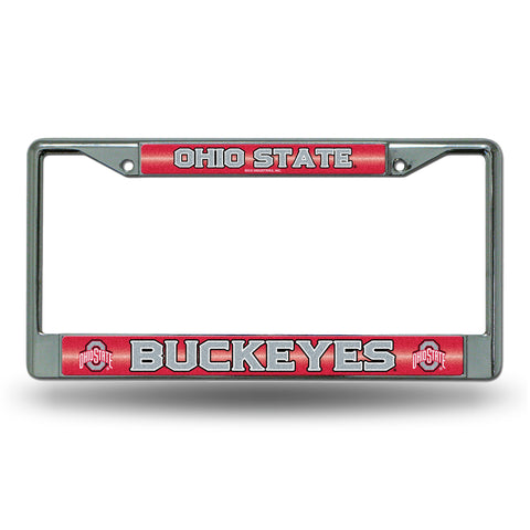 OHIO STATE BLING CHROME FRAME