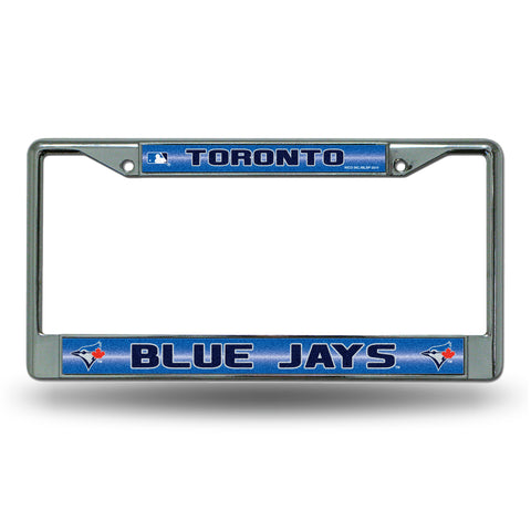 BLUE JAYS BLING CHROME FRAME