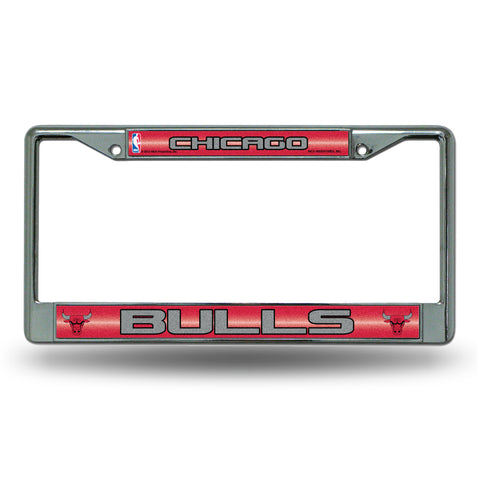 BULLS BLING CHROME FRAME