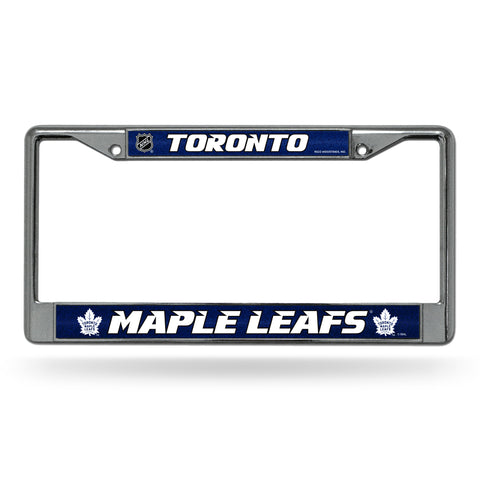 MAPLE LEAFS BLING CHROME FRAME