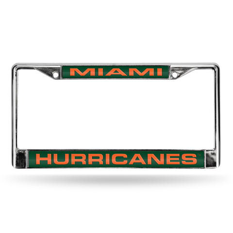 MIAMI GREEN LASER CHROME FRAME