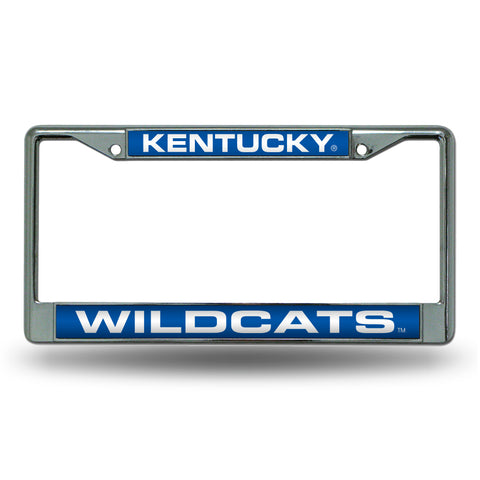 KENTUCKY BLUE LASER CHROME FRAME