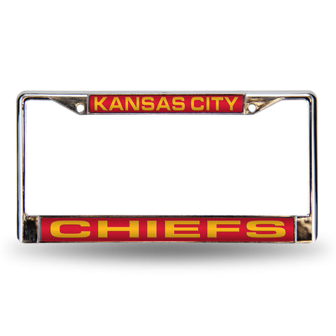 CHIEFS RED LASER CHROME FRAME