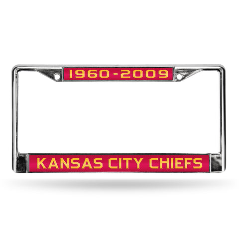 CHIEFS 50TH ANNIVERSARY LASER CHROME FRM