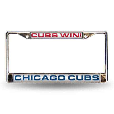 CHICAG0 CUBS WIN LASER FRAME