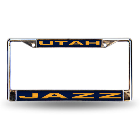 UTAH JAZZ BLUE LASER CHROME FRAME
