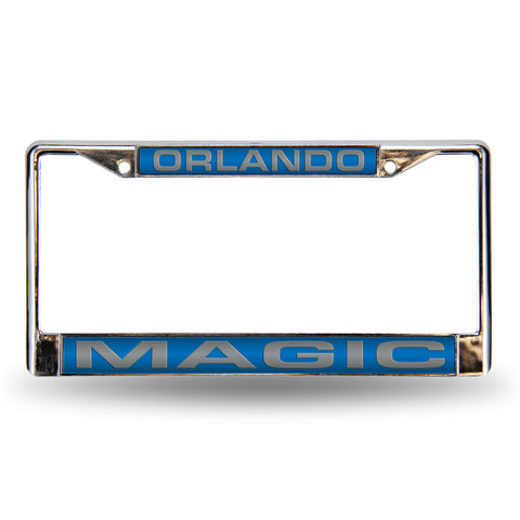 ORLANDO MAGIC BLUE LASER CHROME FRAME