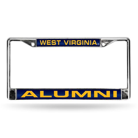 WEST VIRGINA ALUMNI LASER CHROME FRAME