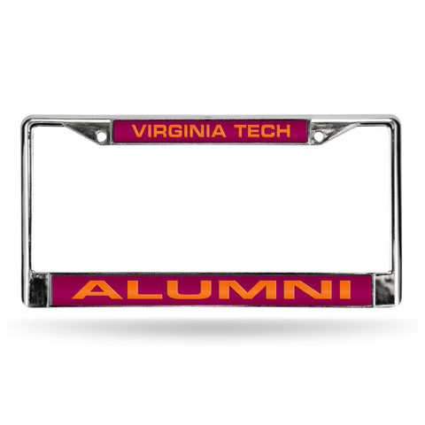 VIRGINIA TECH ALUMNI LASER CHROME FRAME