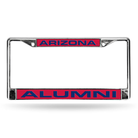 ARIZONA ALUMNI RED LASER CHROME FRAME