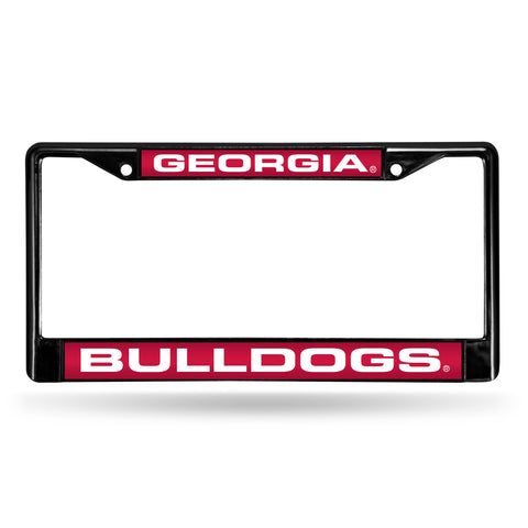 GEORGIA BLACK LASER CHROME FRAME
