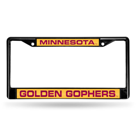 MINNESOTA BLACK LASER CHROME FRAME