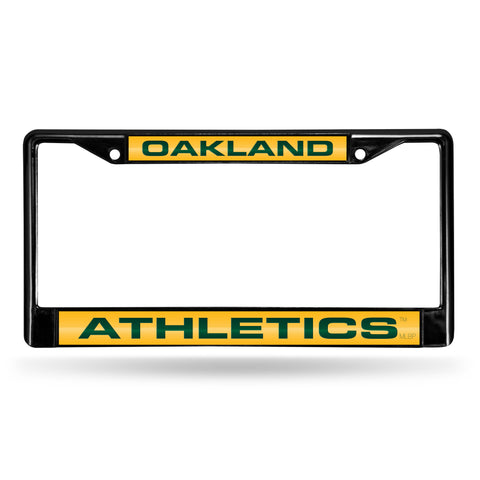ATHLETICS BLACK LASER CHROME FRAME