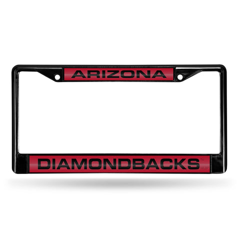 ARIZONA DIAMONDBACKS BLACK LASER CHROME FRAME Version 2