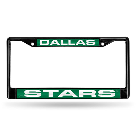 DALLAS STARS BLACK LASER CHROME FRAME