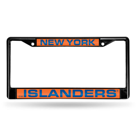NEW YORK ISLANDERS BLACK LASER CHROME FRAME