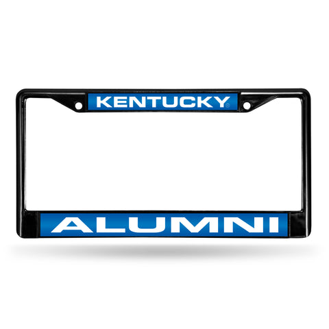 KENTUCKY ALUMNI BLACK LASER FRAME