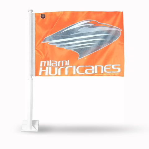 HURRICANES CAR FLAG CONTEMPORARY IBIS