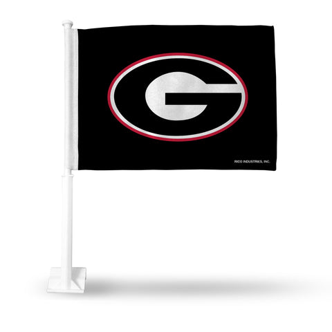 "GEORGIA ""G' ON BLACK CAR FLAG"