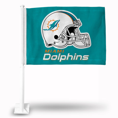 DOLPHINS HELMET CAR FLAG  