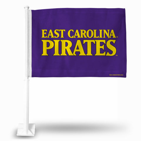 "EAST CAROLINA ""ECU WORD MARK"" CAR FLAG"