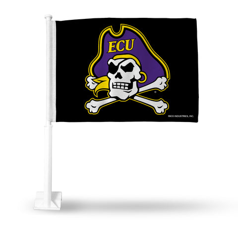 EAST CAROLINA JOLLY BLACK CAR FLAG