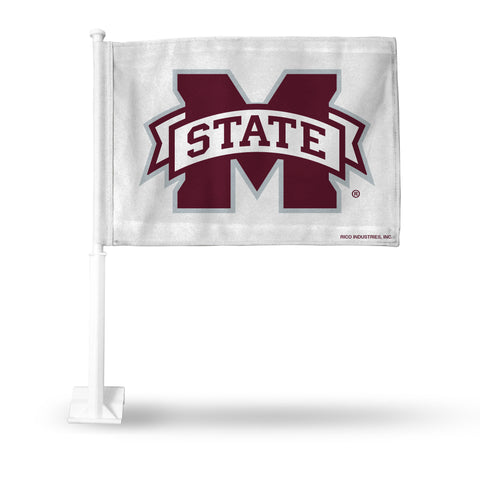 MISSISSIPPI ST WHITE CAR FLAG