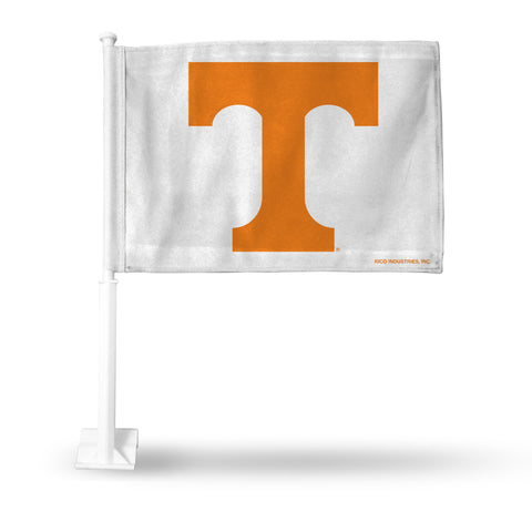 TENNESSEE BLOCK T WHITE CAR FLAG