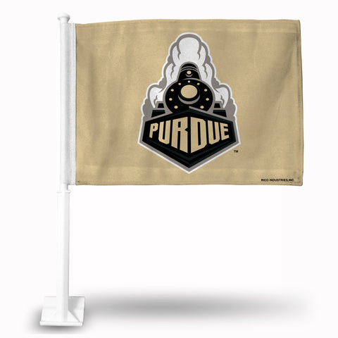 PURDUE GOLD W/TRAIN FRONT VIEW