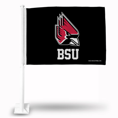 BALL STATE CAR FLAG Version 1