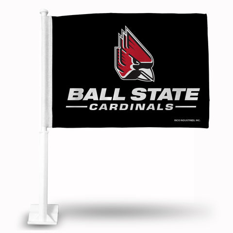 BALL STATE CAR FLAG Version 2