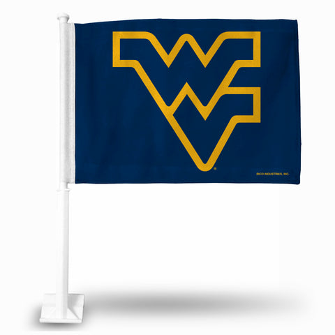WEST VIRGINIA BLUE BKG CAR FLAG