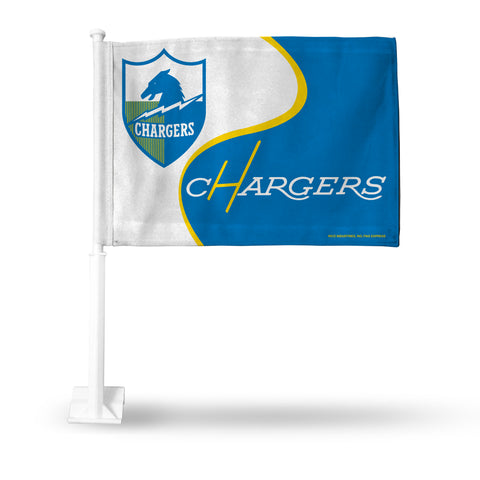 LOS ANGELES CHARGERS RETRO LOGO CAR FLAG