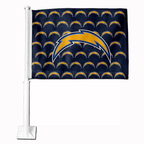 LOS ANGELES CHARGERS MULTI BOLT CAR FLAG