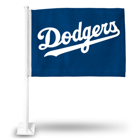 DODGERS CAR FLAG