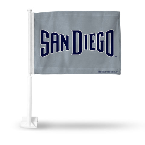 PADRES SECONDARY DESIGN CAR FLAG