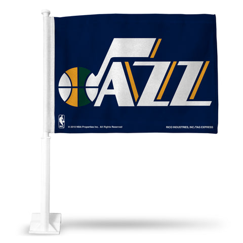 UTAH JAZZ CAR FLAG Version 1