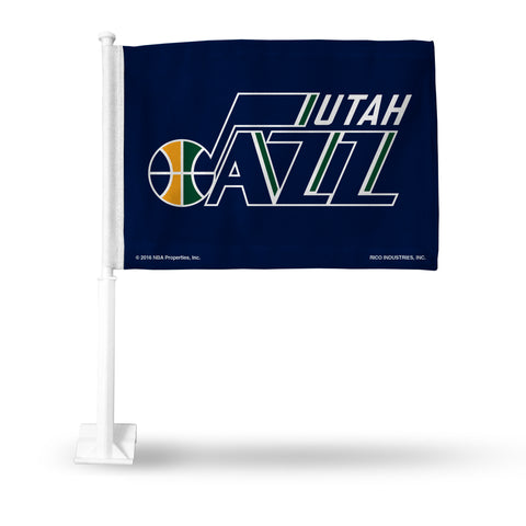 UTAH JAZZ CAR FLAG Version 2