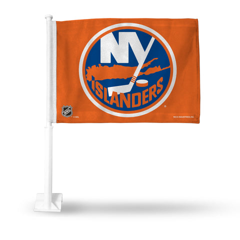 ISLANDERS CAR FLAG (ORANGE)