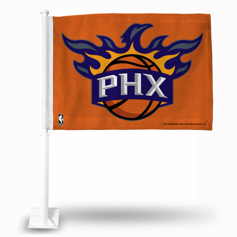 PHOENIX SUNS ORANGE CAR FLAG