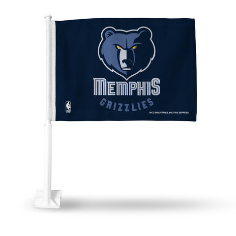 MEMPHIS GRIZZLIES CAR FLAG Version 1