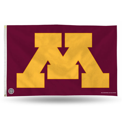 MINNESOTA GOPHERS 'BLOCK M' BANNER FLAG Version 1