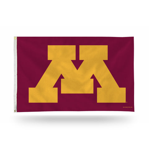 MINNESOTA GOPHERS 'BLOCK M' BANNER FLAG Version 2