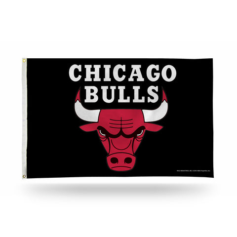 CHICAGO BULLS 3 X 5 BANNER FLAG