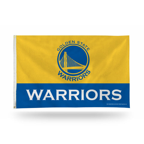 GOLDEN ST WARRIORS TWO-TONE BANNER FLAG