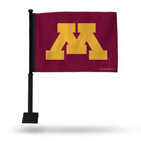 MINNESOTA CAR FLAG - BLACK POLE